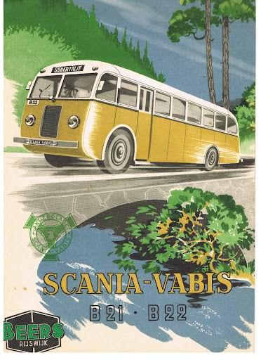 1945 SCANIA-VABIS B21-B22 Beers Rijswijk