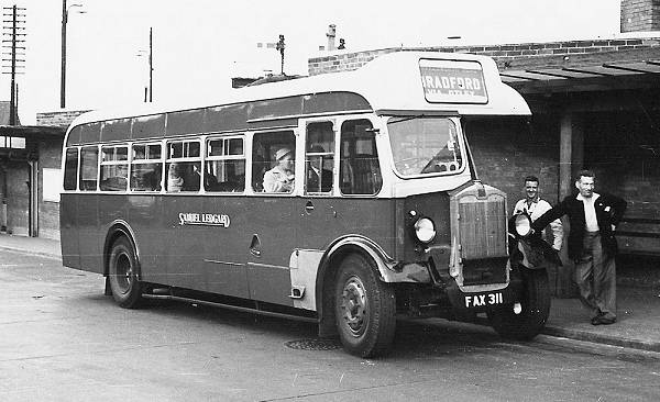 1946 Albion Valkyrie CX13 with BBW (Bristol Tramways Bodybuilding Works) rear entrance bodywork