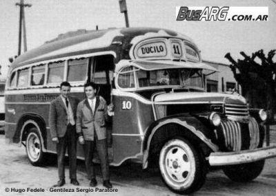 1946 Chevrolet La Favorita San Francisco Buenos Aires Argentinië