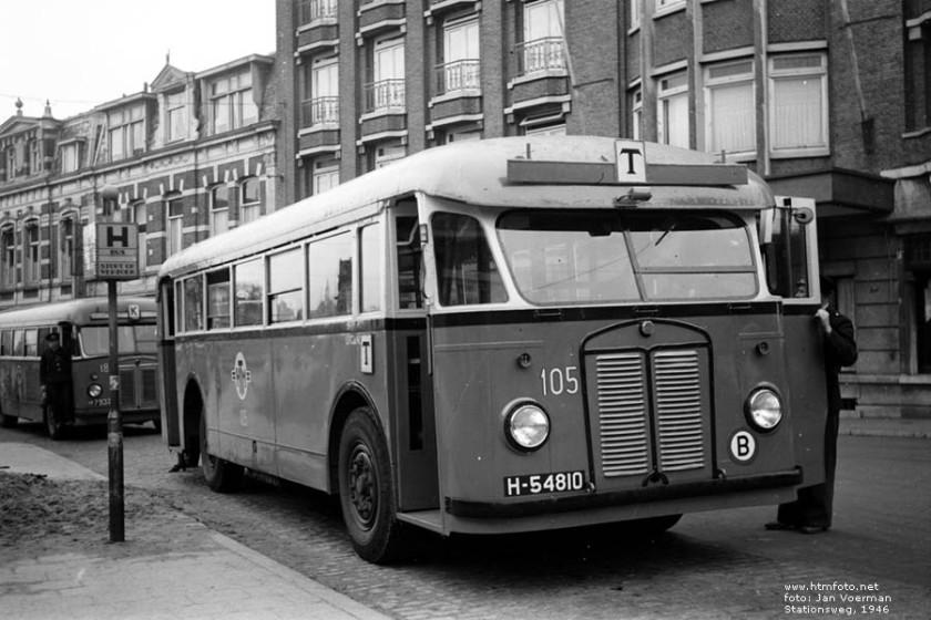 1946 Kromhout TB-4 - Beijnes HTM 105 1946 Stationsweg