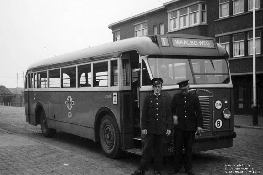 1946 Kromhout TB-4 - Beijnes HTM 120 Viaductweg
