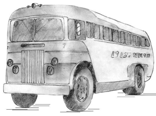 1946 La Estrella Leyland, basado en el parabrisas rehundido de los GM-Parlor Coach.