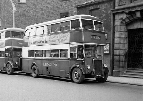 1946 Leyland PD1s with Leyland H30-26R bodies