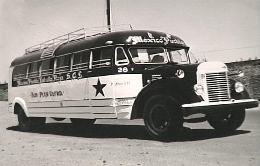 1947 Estrella Roja cumple 67 años First-Bus-H