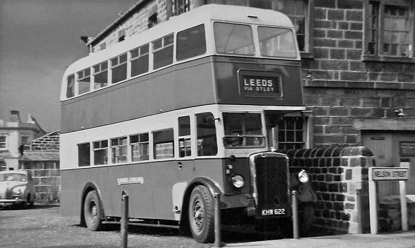 1947 Leyland PD1A with an unusual Bristol Brislington H30-26R body lgkhw622