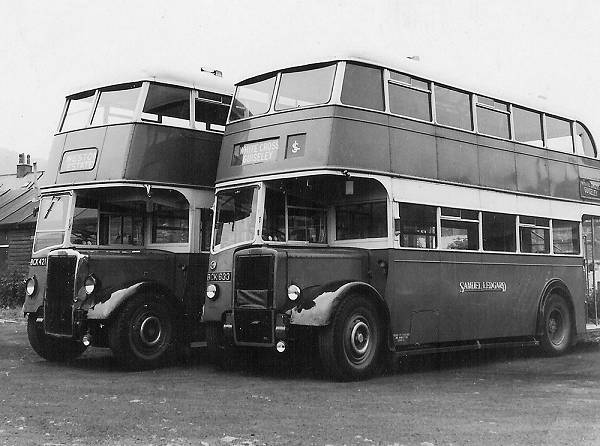 1947 Leyland PD1A with Leyland H32-26R body lgbck633