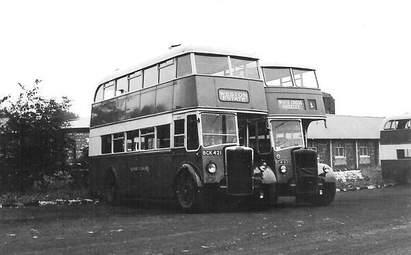 1947 Leyland PD1A with Leyland H32-26R body