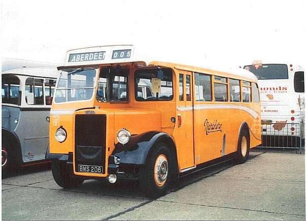 1947 Leyland PS1 Alexander BMS206