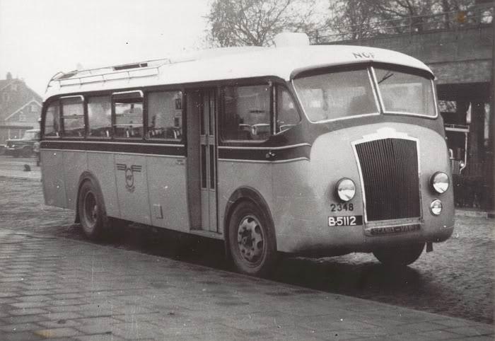 1947 Scania vabis B15 Brouwers