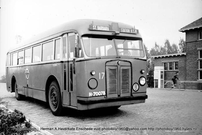 1947 Scania Verheul HTM 17 St Barbara Den Haag