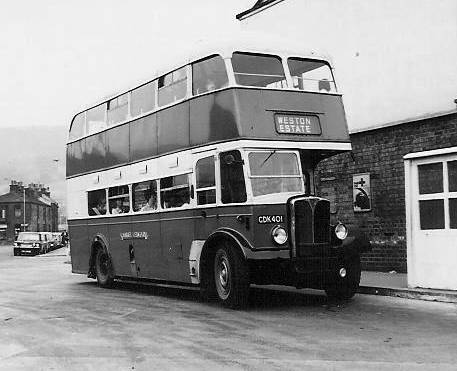 1948 AEC Regent III with East Lancs H31-28R body lggdk401