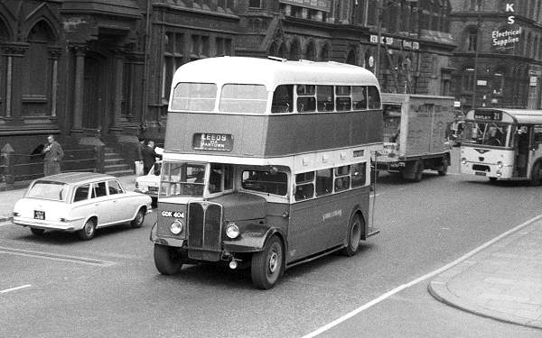 1948 AEC Regent III with East Lancs H31-28R body lggdk404