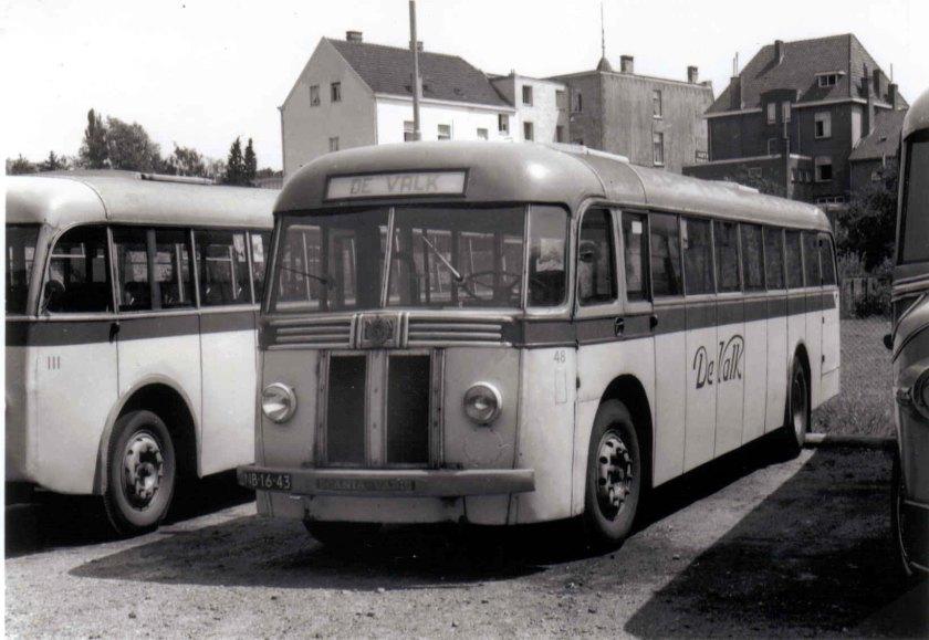 1948 Hägglund & Söner Scania vabis De Valk 48