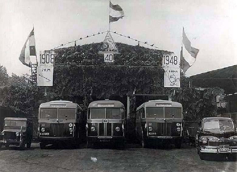 1948 Hägglund & Soner TET 61+73+62 Scania Vabis