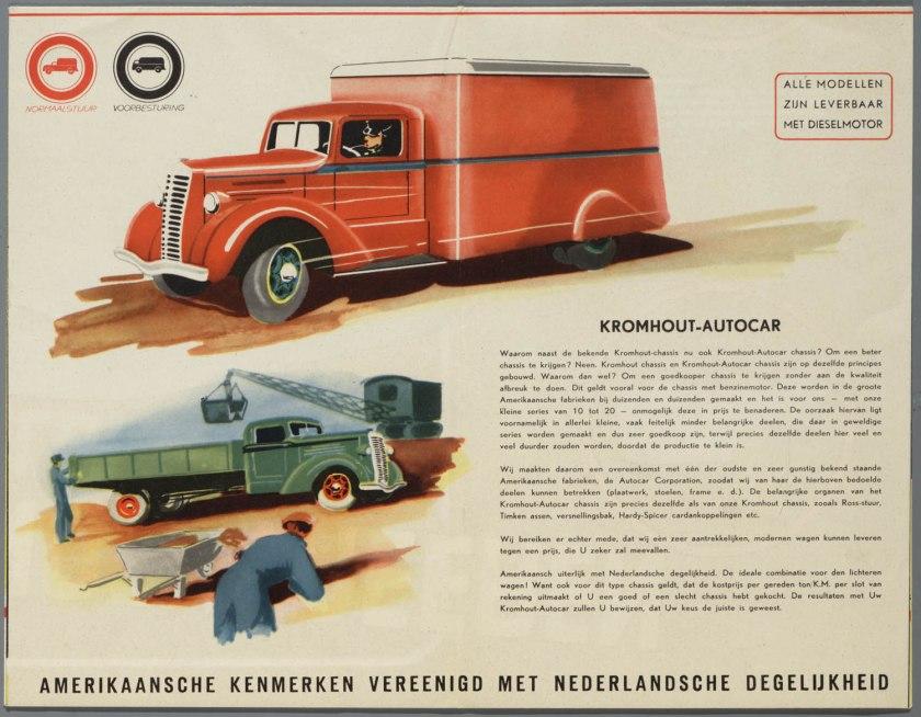 1948 Kromhout Vrachtwagens