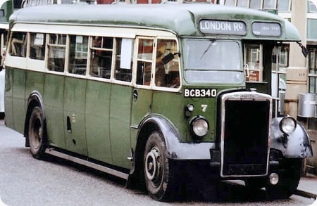 1948 Leyland Tiger PS1 BCB-340 Crossley B32F