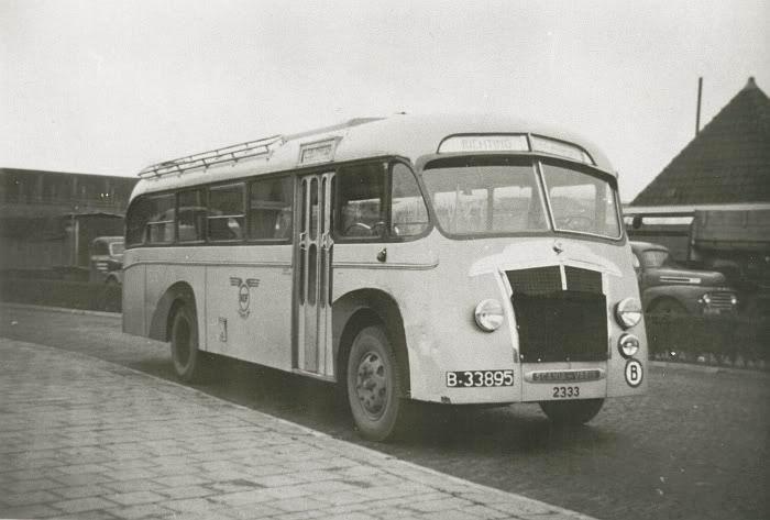 1948 Scania Vabis B15 Brouwers 1948 B-33895