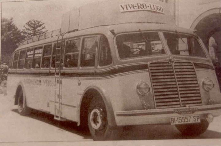 1948 Vivero lugo bus