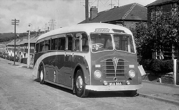 1949 Foden PVSC6 with a Plaxton FC33F body lgmua866