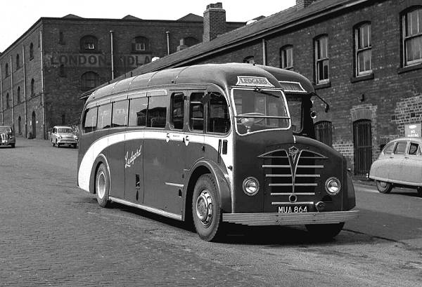 1949 Foden PVSC6 with Plaxton C33F bodie lgmua864