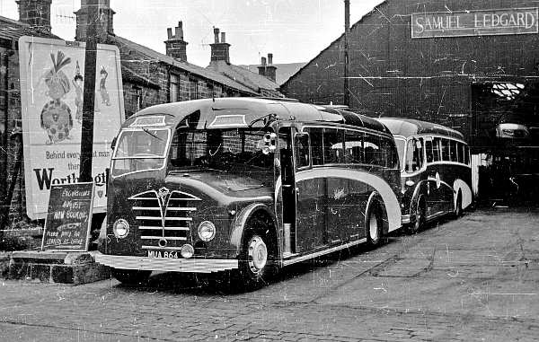 1949 Foden PVSC6 with Plaxton C33F body lgmua864a