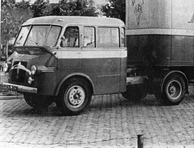 1949 Kromhout AVEK Ledikanten en Matrassenfabriek Surhuisterveen B-35663
