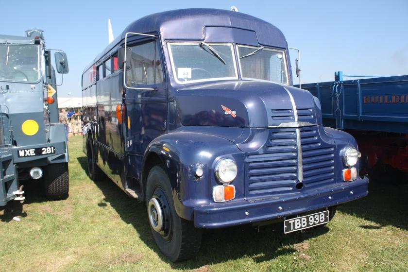 1949 Leyland Comet Bus TBB 938 at Riverside