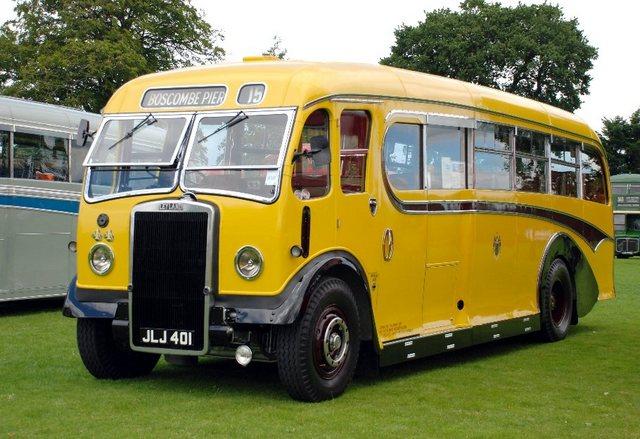 1949 Leyland Tiger Burlingham