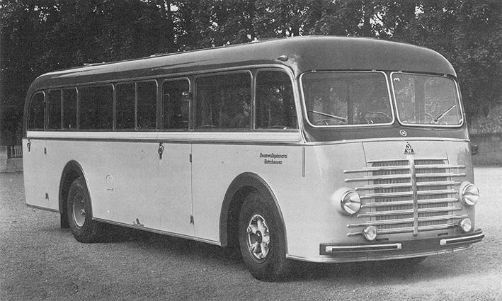 1949 Südwerke TD 50 mit Aufbau von Kässbohrer Krupp