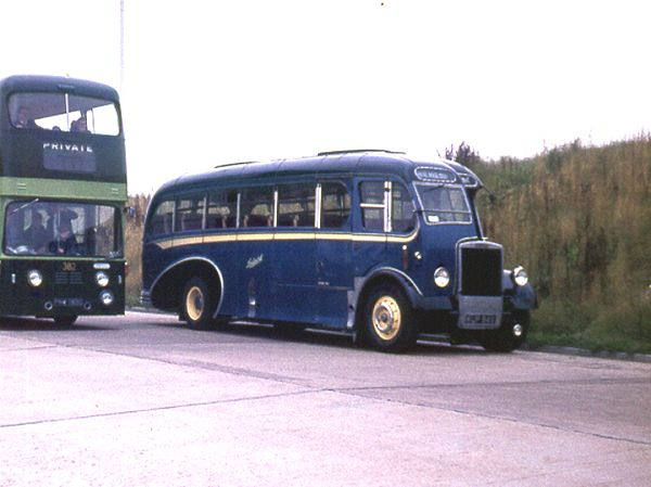 1950 Burlingham C33F bodied Leyland PS1-1 lgkup949a