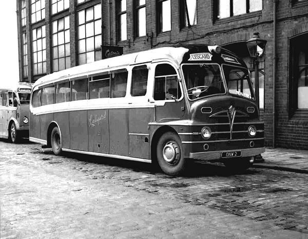 1950 Foden PVFE6 with Plaxton Envoy FC39F body lgonw2
