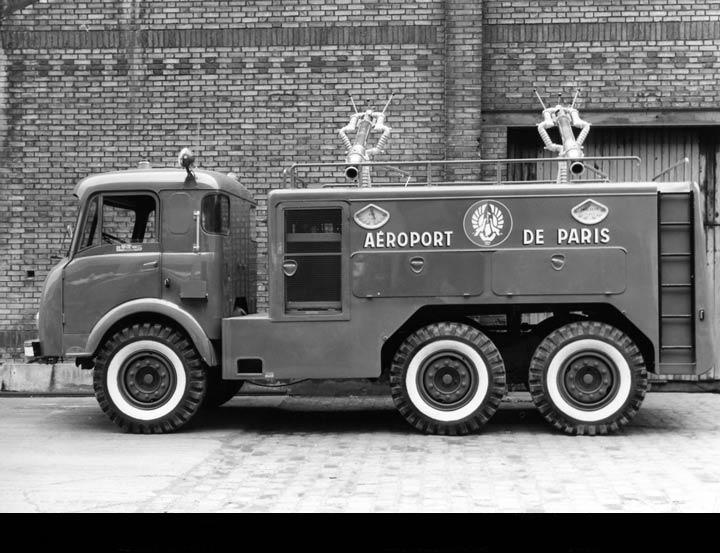 1950 Latil 6x6 Pompiers Aeroport de Paris