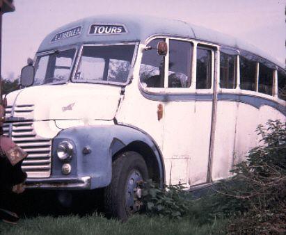1950 Leyland Comet MRL 910