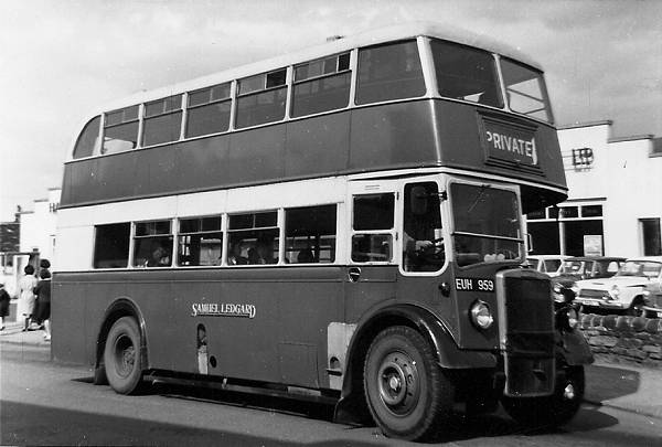 1950 Leyland lowbridge PD2-3 lgeuh959