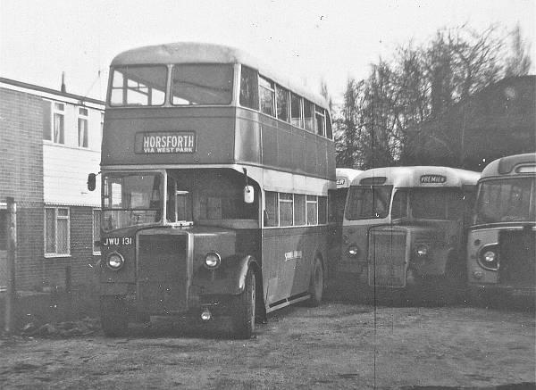 1950 Leyland PD2-1 JWU131