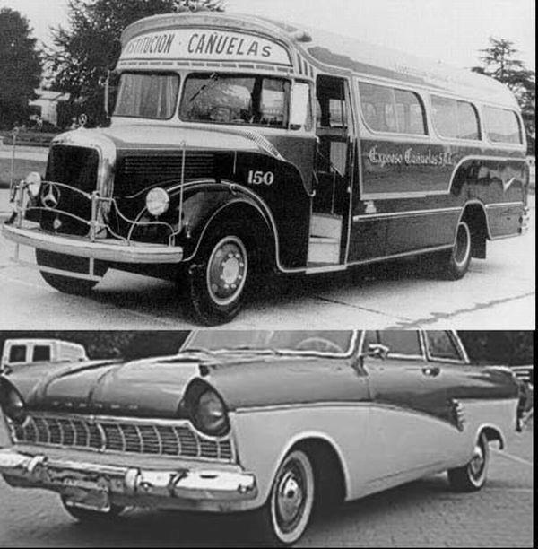 1950 Mercedes benz La Estrella styling 7