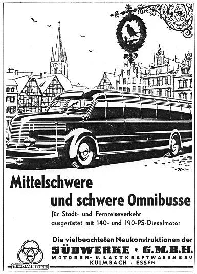 1951 Eine Werbeanzeige aus dem Jahre 1951