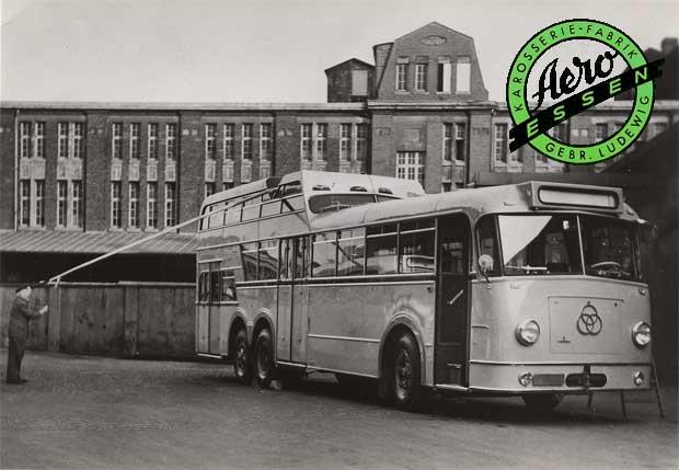 1951 Krupp O8 E für die Stadtwerke Wuppertal
