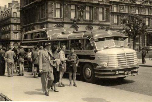 1951 Krupp-Südwerke O 8 FK mit Ludewig Aero-Aufbau in Paris