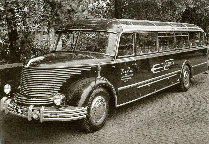 1951 Krupp Sudwerke SW060 Mustang