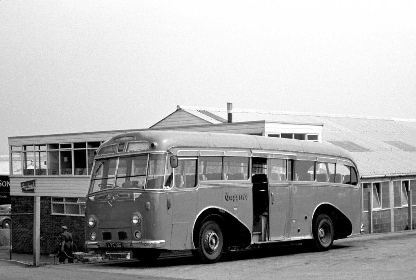 1951 Leyland Royal Tiger Harrington C41C originally Grey-Green