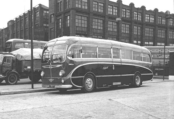 1951 Maudslay AEC Regal IV with Burlingham C41C body lgmtj357