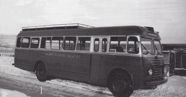 1951 Scania Vabis B41