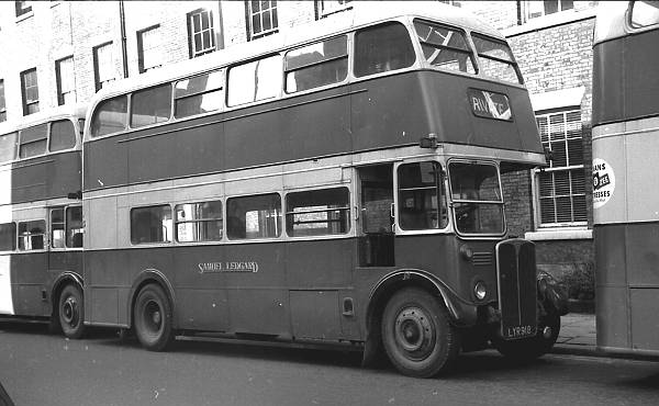 1952 A.E.C. Regent III ex London Transport RT3499 lglyr918