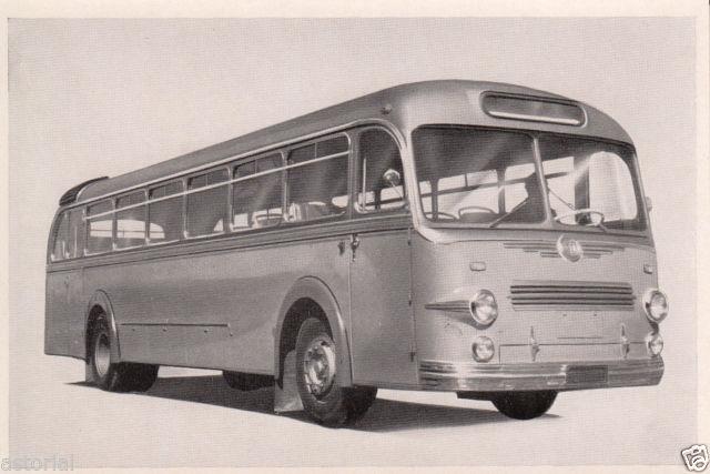1952 KRAUSS - MAFFEI KMO 160 Bus orig. Sammelbild