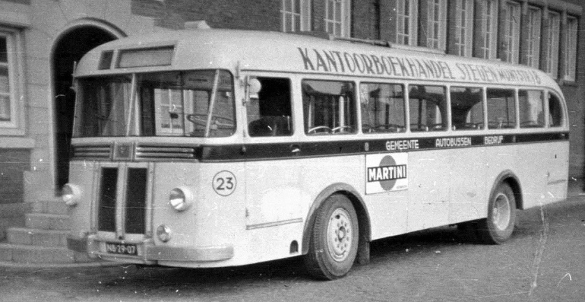 1952 Kromhout TB 4-2 carr. Verheul NB-29-07