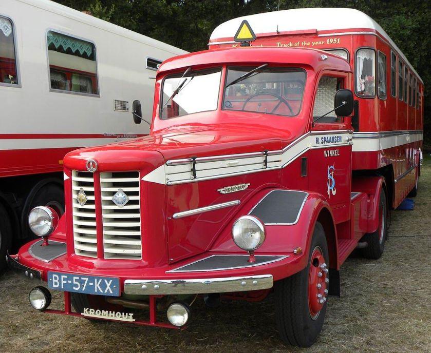 1952 Kromhout V6T truck