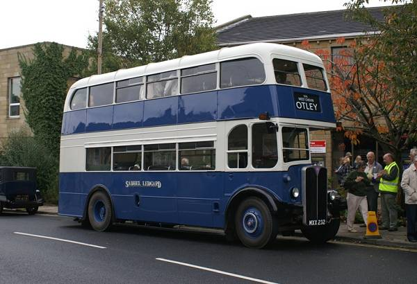 1952 London Transport AEC Regent III with lowbridge Weymann bodywork lgmxx232