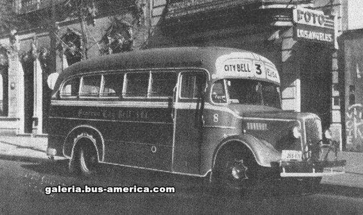 1952 Morris Commercial LC3 - La Favorita - Expreso City Bell S.R.L. Línea 3 (entonces)
