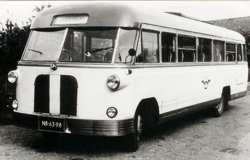 1952 Scania carr. De Bruin NB-63-98